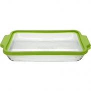 Anchor Hocking 74883 Trufit Glass Baking Dish with Lid, 3-Quart