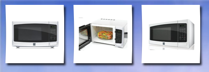 Kenmore 0.9 cu. ft. Countertop Microwave White 73092, Kenmore, Kenmore ...